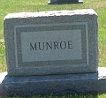 Munroe Headstone in Cathedral Cemetery