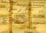 Burrial receipt for Martin Munroe.